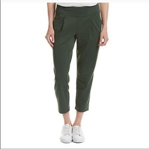 Lucy Women's Cropped Pants Olive Green Sz XS